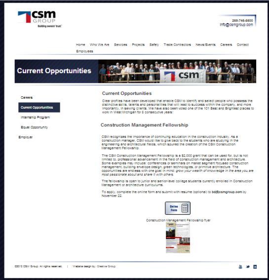 Opp CSM Group
